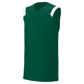 Youth Moisture Management V Neck Muscle Shirt Thumbnail