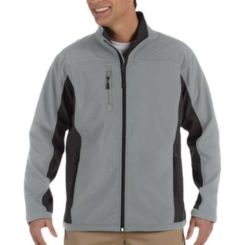 Men's Soft Shell Colorblock Jacket Thumbnail