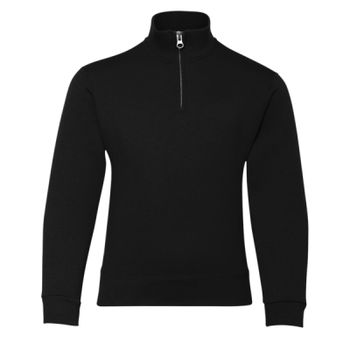 Nublend Youth Quarter-Zip Cadet Collar Sweatshirt Thumbnail