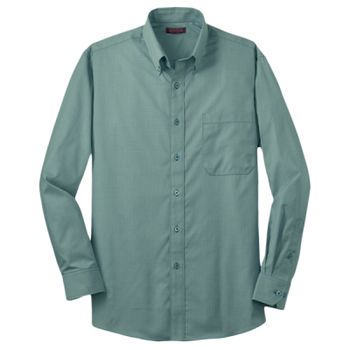 Mini Check Non Iron Button Down Shirt Thumbnail