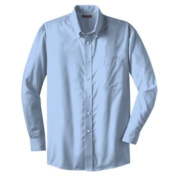 Dobby Non Iron Button Down Shirt Thumbnail
