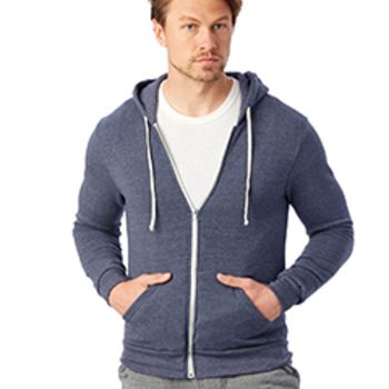 Unisex Rocky Eco-Fleece Zip Hoodie Thumbnail