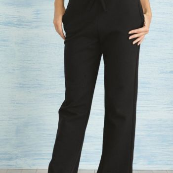 Heavy Blend Women's Open Bottom Sweatpants Thumbnail