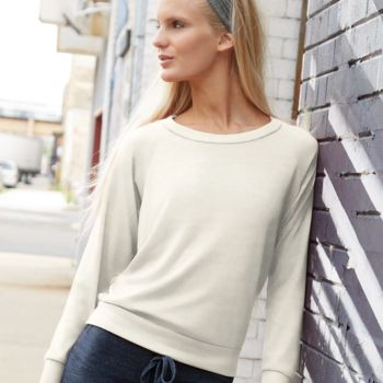 Women's Eco-Jersey™ Slouchy Pullover Thumbnail