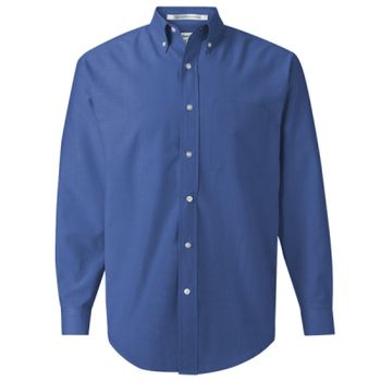 Long Sleeve Oxford Shirt Tall Sizes Thumbnail