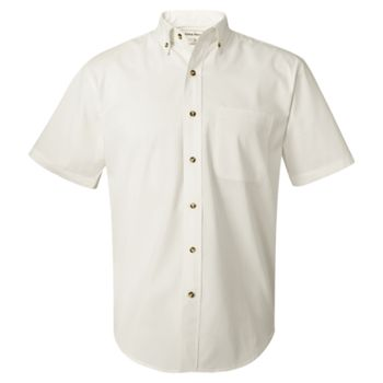 Short Sleeve Twill Shirt Tall Sizes Thumbnail