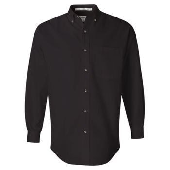 Long Sleeve Twill Shirt Tall Sizes Thumbnail