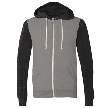 Rocky Unisex Colorblocked Eco-Fleece™ Hooded Full-Zip Thumbnail
