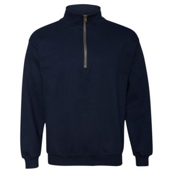 Heavy Blend Quarter-Zip Cadet Collar Sweatshirt Thumbnail