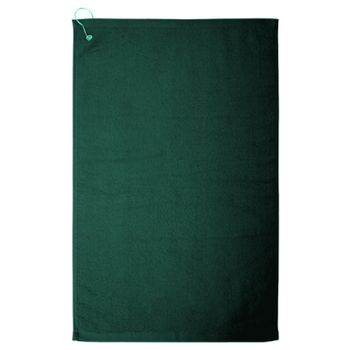 Hemmed Hand Towel with Corner Grommet and Hook Thumbnail
