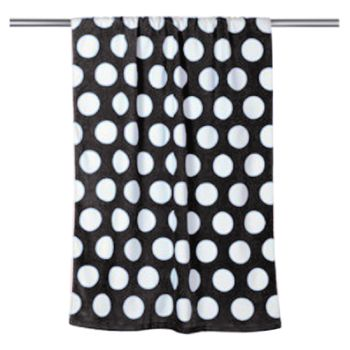 Polka Dot Velour Beach Towel Thumbnail