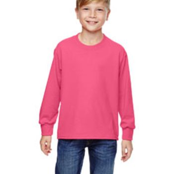 Youth 5 oz. HD Cotton™ Long-Sleeve T-Shirt Thumbnail