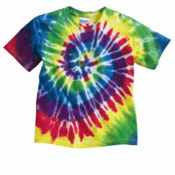 Youth Multi-Color Spiral T-Shirt Thumbnail