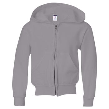 NuBlend Youth Full-Zip Hooded Sweatshirt Thumbnail