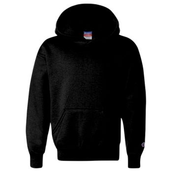 Double Dry Eco Youth Hooded Sweatshirt Thumbnail