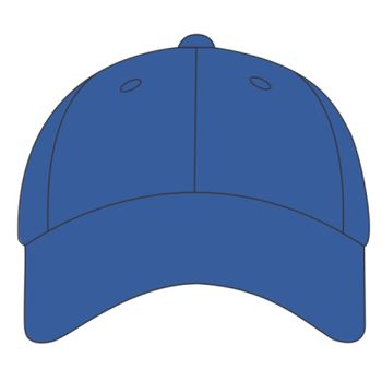 Six Panel Unstructured Twill Cap Thumbnail