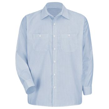 Industrial Stripe Work Shirt Thumbnail