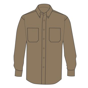 Long Sleeve Work Shirt Tall Sizes Thumbnail
