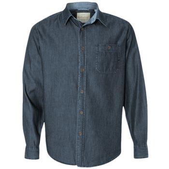 Vintage Denim Long Sleeve Shirt Thumbnail