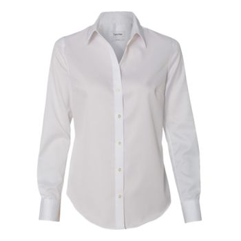 Women's Non-Iron Micro Pincord Long Sleeve Shirt Thumbnail