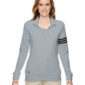 Ladies' climalite 3-Stripes Full-Zip Thumbnail