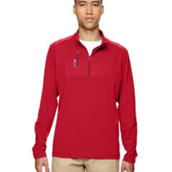 Men's puremotion™ Mixed Media Quarter-Zip Thumbnail