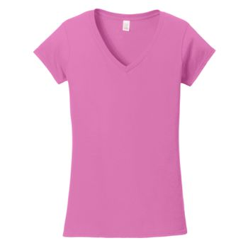 Softstyle ® Women's Fit V Neck T Shirt Thumbnail