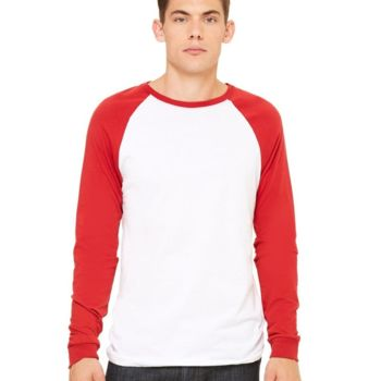 Long Sleeve Jersey Baseball Tee Thumbnail
