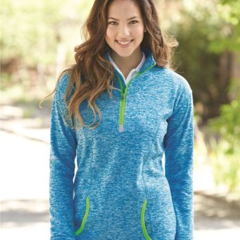 Women's Cosmic Fleece Quarter-Zip Pullover Thumbnail