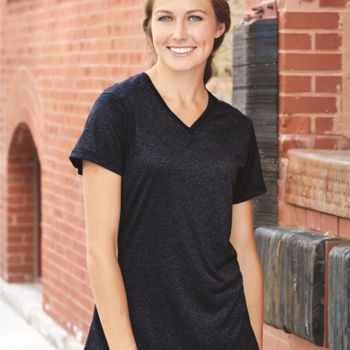 Pro Women's Heather V-Neck T-Shirt Thumbnail
