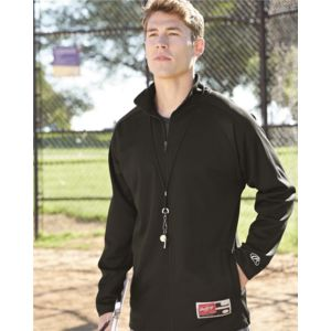 Full-Zip Flatback Mesh Fleece Jacket Thumbnail