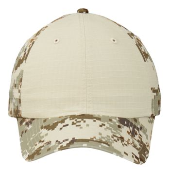 Colorblock Digital Ripstop Camouflage Cap Thumbnail