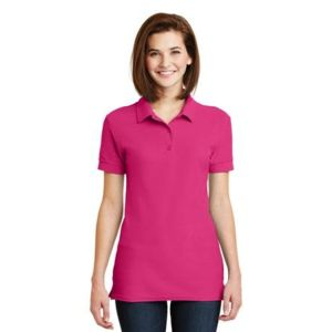 Ladies 6.6 Ounce 100% Double Pique Cotton Sport Shirt Thumbnail