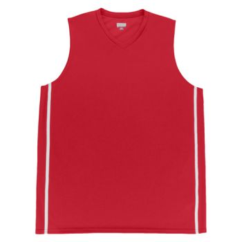 Youth Wicking Polyester Sleeveless Jersey with Mesh Inserts Thumbnail