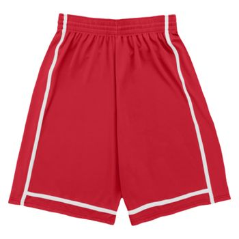 Adult Wicking Polyester Shorts with Mesh Inserts Thumbnail