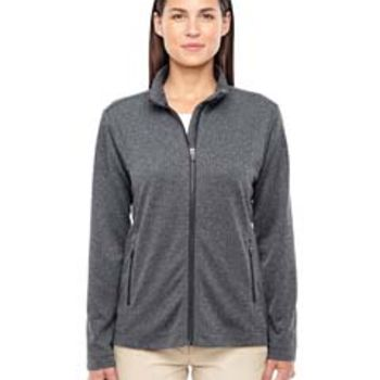 Ladies' Fairfield Herringbone Full-Zip Jacket Thumbnail