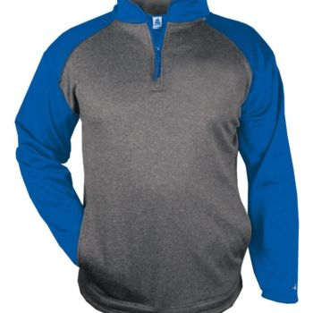 Sport Pro Heather Performance Fleece Quarter-Zip Pullover Thumbnail