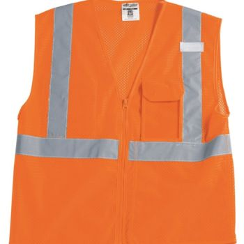Clear ID Vest with Zipper Closure Thumbnail
