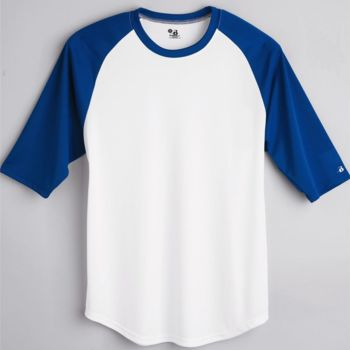 B-Core Youth 3/4 Sleeve Baseball T-Shirt Thumbnail