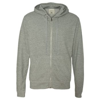 Vintage Marled French Terry Full-Zip Hood Thumbnail
