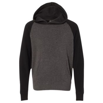 Youth Special Blend Raglan Hooded Pullover Thumbnail