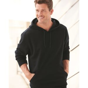 Cotton Blend Hooded Pullover Sweatshirt Thumbnail