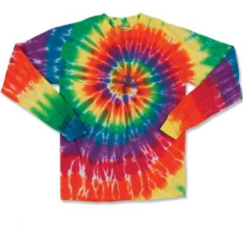 Spiral Tie Dye Long Sleeve Thumbnail