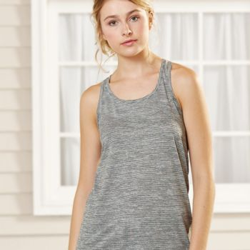 Women's Tiger Slub Racerback Tank Top Thumbnail