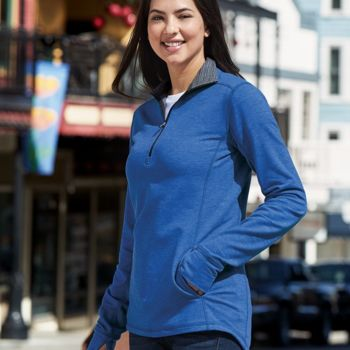 Omega Stretch Terry Women's Quarter-Zip Pullover Thumbnail