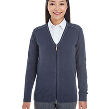 Ladies' Manchester Fully-Fashioned Full-Zip Sweater Thumbnail
