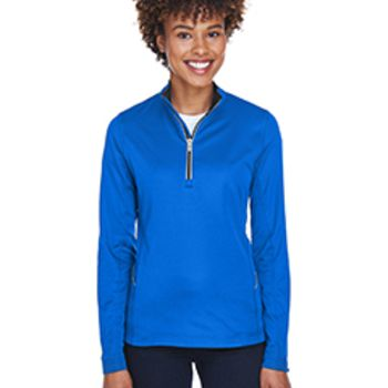 Ladies' Cool & Dry Sport Quarter-Zip Pullover Thumbnail