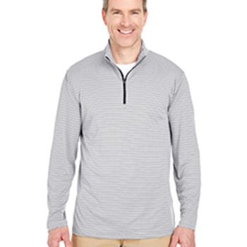 Adult Striped Quarter-Zip Pullover Thumbnail