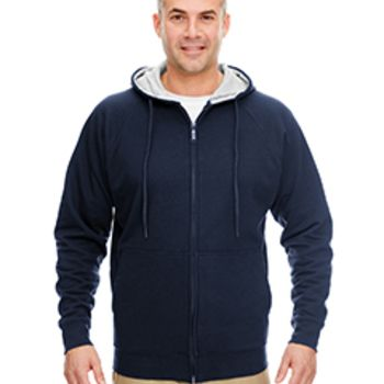 Adult Rugged Wear Thermal-Lined Full-Zip Hooded Fleece Thumbnail