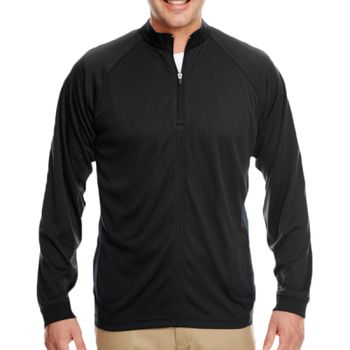 Adult Cool & Dry Sport Quarter-Zip Pullover with Side Panels Thumbnail